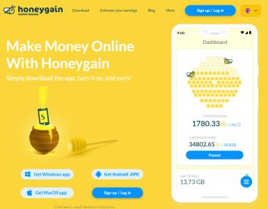Honeygain - Earn Money in the Background
